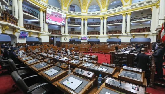 De ser aprobado por el pleno, el Parlamento podrá aprobar reformas constitucionales antes que inicien funciones los legisladores electos el pasado 11 de abril. (Foto: Congreso)