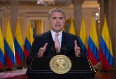Presidente de Colombia Iván Duque dice que el TC peruano debe pronunciarse sobre crisis política