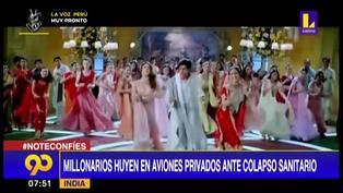 India: Magnates y estrellas de Bollywood abandonan el país en aviones privados ante casos de COVID-19