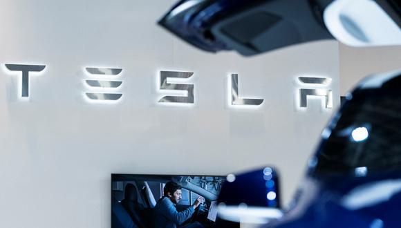 Tesla desplazó a Toyota al segundo lugar. . (Foto: AFP)