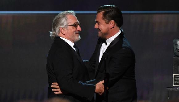 Leonardo DiCaprio y Robert De Niro subastan participar en rodaje de Martin Scorsese. (Foto: AFP)