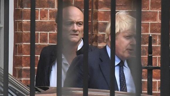 Dominic Cummings fue el principal asesor de Boris Johnson y cerebro detrás de la campaña del Brexit. (PA MEDIA).