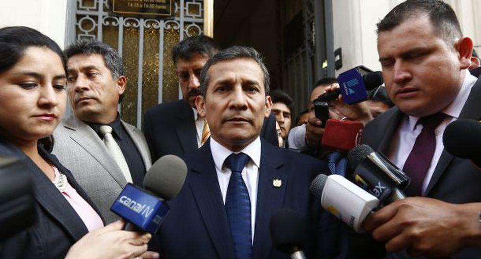 Al ser consultado sobre lo sucedido en Bolivia, Humala aseveró que Evo Morales fue víctima de golpe de Estado. (Foto: GEC)