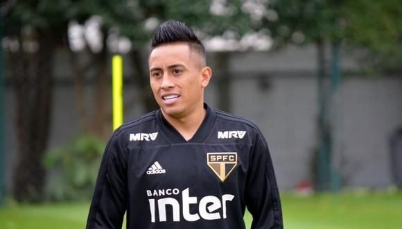 Ni bien Christian Cueva se marchó al fútbol ruso, el Sao Paulo levantó exponencialmente su rendimiento futbolístico. Ahora se ubica segundo en la tabla de posiciones del Brasileirao. (Foto: UOL Esporte)