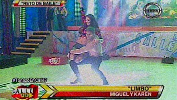 """Calle 7"": mira el sensual baile de Karen Schwarz"