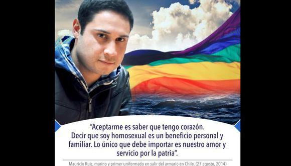 El primer militar chileno en reconocer su homosexualidad