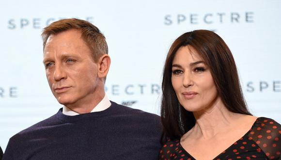 Monica Belluccci fue presentada como la nueva chica Bond