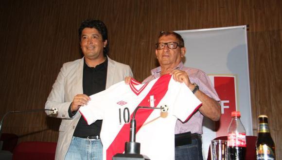'Chino' Rivera fue presentado como entrenador de la Sub 20
