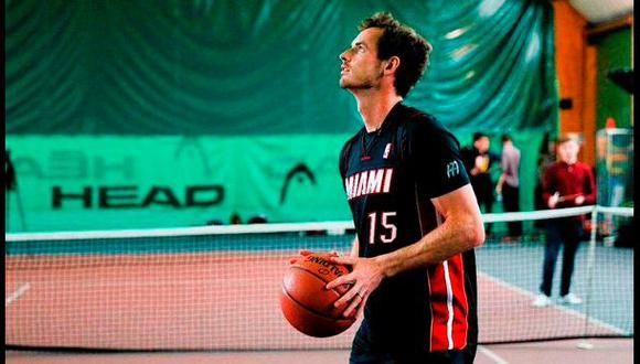 #HalfCourtChallenge: Andy Murray falló en reto de la NBA