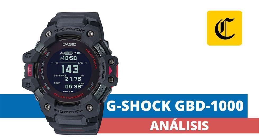 El GBD-H1000 es un nuevo integrante de la familia G-Shock, que le agrega muchas funciones propias de un reloj inteligente a este dispositivo ampliamente conocido. (El Comercio)
