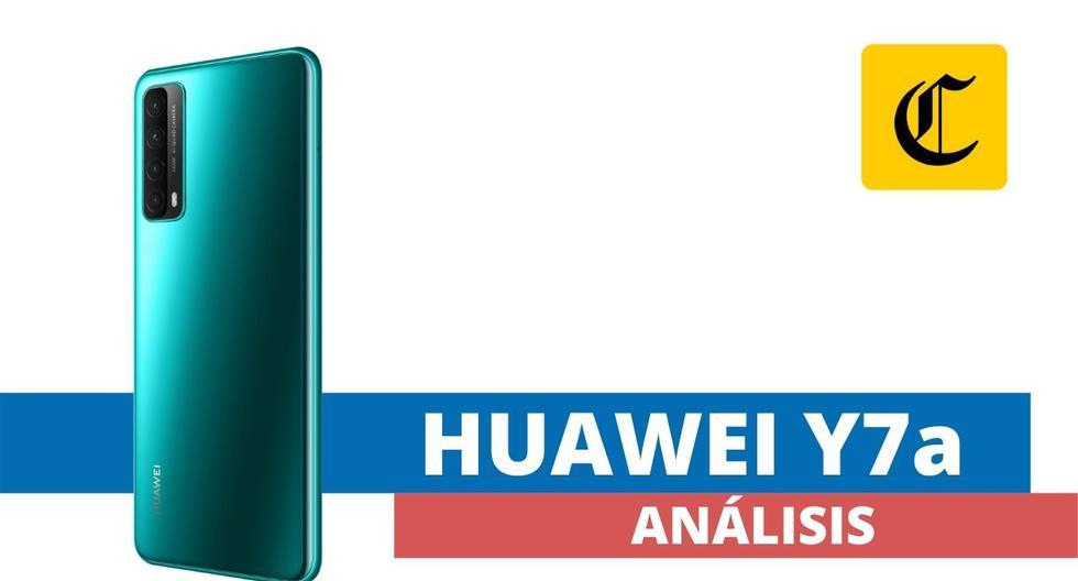 El modelo Y7A es el primer modelo que Huawei ha lanzado este año. Su público objetivo es el segmento juvenil. (El Comercio)