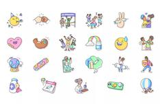 """WhatsApp incorpora varios """"stickers"""" para expresar sentimientos sobre vacunas COVID-19"""