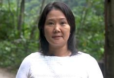 """Keiko Fujimori defiende Constitución de 1993: """"Podemos reformarla y mejorarla, pero de ninguna manera hacer una nueva"""""""