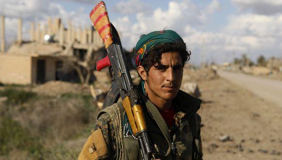Baghuz | Deir Ezzor: La ofensiva contra el Estado Islámico en Siria, frenada por el temor por los civiles. (Foto: AFP).