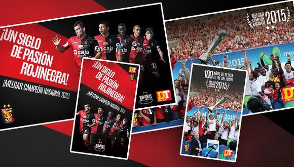 Descarga aquí los wallpapers del Melgar campeón 2015