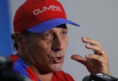 Troglio puso su cargo a disposición tras escandalosa expulsión del Olimpia de Honduras en la Liga Concacaf