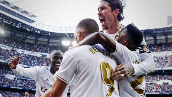Real Madrid ha sido campeón de la liga española en 33 ocasiones. (Foto: AFP)