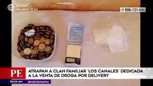 SJL: cae familia que presuntamente vendía droga por delivery