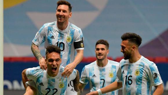 Formación de Argentina para enfrentar a Bolivia por las Eliminatorias Qatar 2022   Foto: EFE.