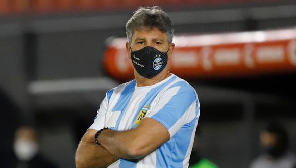 Renato Gaúcho tuvo un gran gesto con Diego Armando Maradona. (Foto: Conmebol)