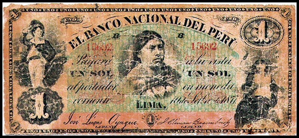 En el siglo XIX, era más común que ahora encontrar personajes femeninos en los billetes.