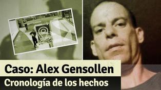 Caso Alex Gensollen: la cronología de los últimos minutos de vida del hombre que murió en un centro comercial