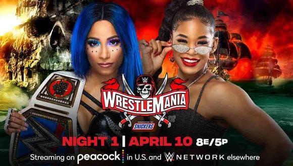 Sigue la primera noche de Wrestlemania 37 este sábado 10 de abril. (Foto: WWE)