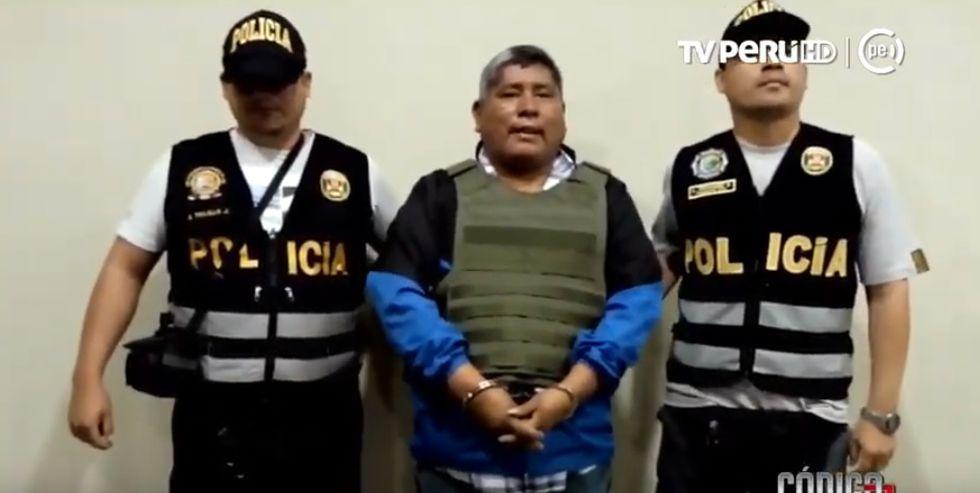 Victor Rivera Muñoz fue detenido en mayo del año pasado de manera preliminar por orden de un juez de Ayacucho. Sin embargo, a los diez días fue puesto en libertad.