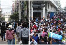 Crean grupo de trabajo para abordar crisis en Gamarra y Mesa Redonda: ¿Cuáles son sus principales demandas?
