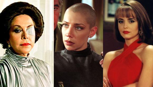 Son muchas las actrices que tomaron el reto de convertirse en las más malas de la televisión (Foto: Televisa)