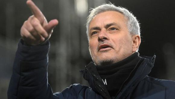 José Mourinho dirigirá a AS Roma en la nueva temporada que se avecina en Europa. (Foto: AFP)