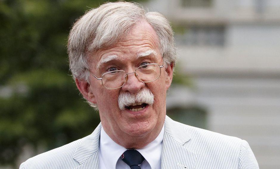 """John Bolton califica a Venezuela como un """"Estado canalla"""" y lo compara con Siria. (AP)."""