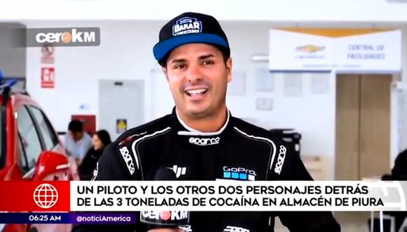 El piloto Fernando de Olazábal es acusado de dirigir una red internacional de narcotraficantes. (Foto: América Noticias)