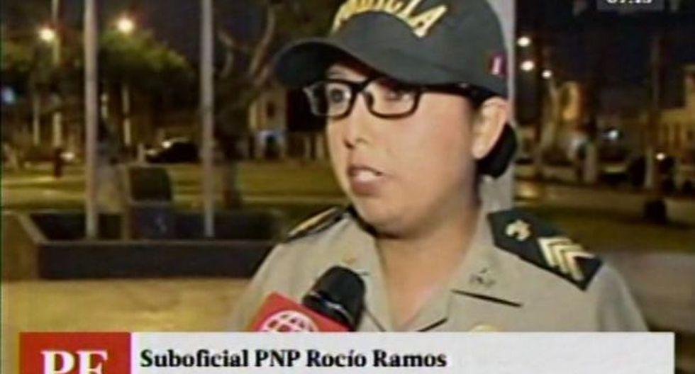 Callao: mujer policía frustra robo en bus al reducir a hampón
