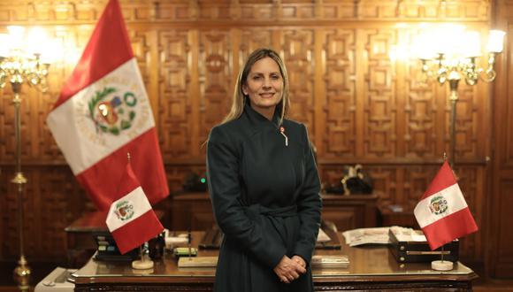 María del Carmen Alva, la presidenta del Legislativo, quiere que toda la actividad parlamentaria vuelva a ser presencial. (Foto: Anthony Niño de Guzmán)