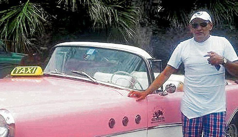 Marlon Marín Marín presumía en redes de sus frecuentes viajes. En plena negociación de paz entre las Farc y el Gobierno se desplazó varias veces a La Habana. (Foto: El Tiempo, GDA)