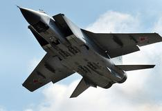 YouTube: mira en vuelo al MiG-31, el caza ruso más rápido del mundo [VIDEO]