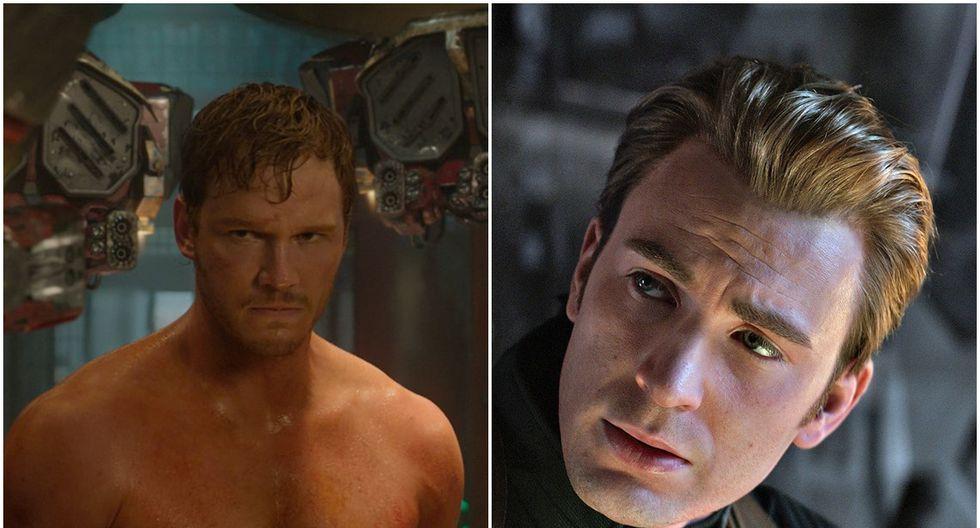 """Chris Pratt audicionó por el rol de Capitán América, el cual finalmente le fue dado a  Chris Evans. Pratt luego conseguiría el papel principal de Star Lord en """"Guardianes de la galaxia"""". (Fuente: Marvel Studios)"""