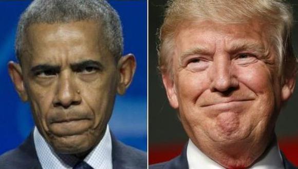 Obama felicita a Trump por su victoria ante Clinton