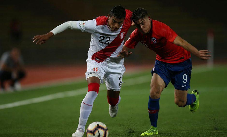 Perú vs. Chile: las mejores imágenes del empate 0-0 en el Sudamericano Sub 17. (Foto: Fernando Sangama)