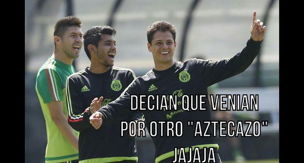 México venció 2-0 a Costa Rica: memes se burlan de Chicharito - 11