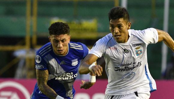 Emelec goleó 3-0 a Blooming en el enfrentamiento de ida. (Foto: AFP)