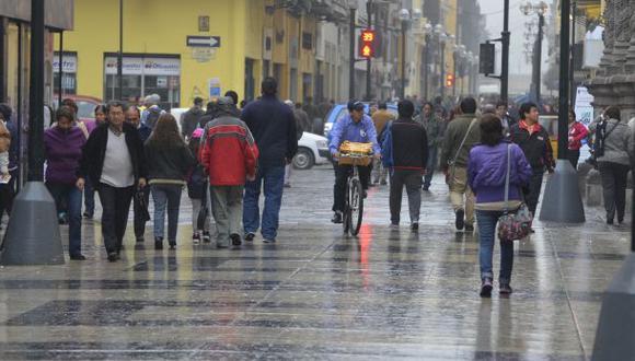 Senamhi: lloviznas en Lima continuarán en los próximos días