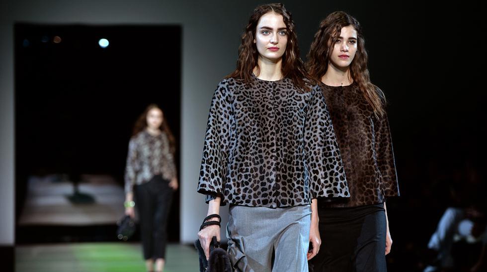 Armani, sencillez y elegancia en la Semana de la Moda de Milán - 1