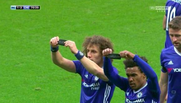 Chapecoense: precioso gesto de William y David Luiz en Chelsea