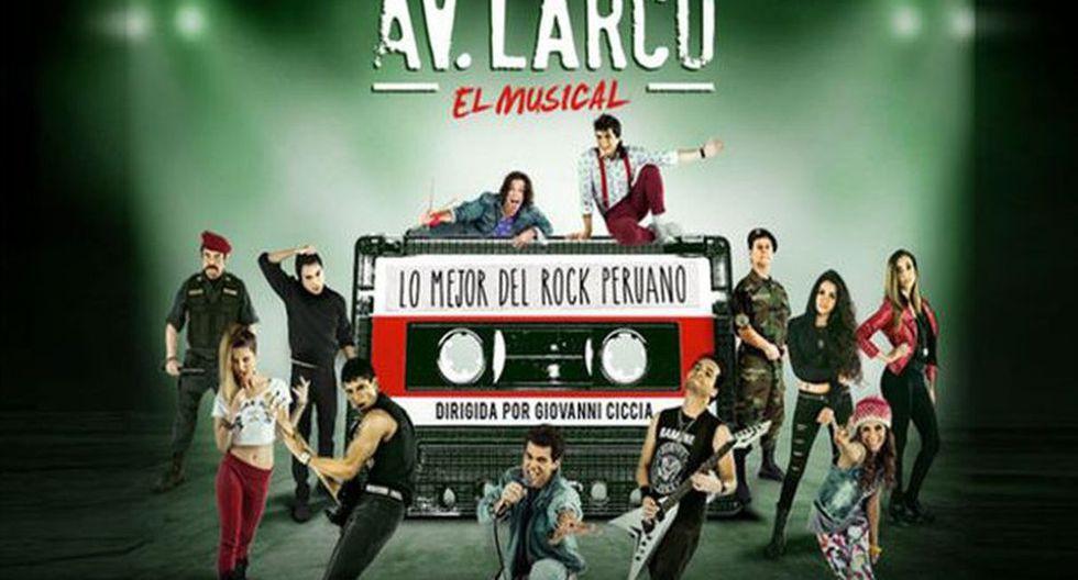 """""""Av. Larco, El Musical"""" regresa al teatro en mayo y ya se inició la preventa. (Foto: Difusión)"""