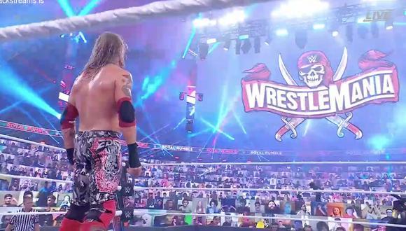 Royal Rumble 2021: resumen, resultados y videos del triunfo de Edge en la Batalla Real