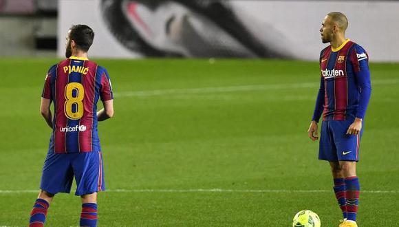 Barcelona chocará este miércoles con Sevilla, por la ida de semifinales de la Copa del Rey. (Foto: AFP)