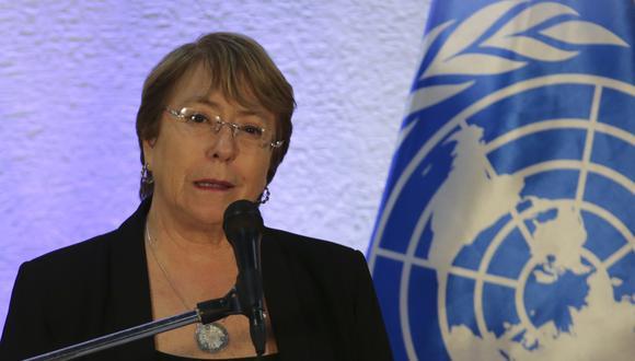Michelle Bachelet dice que sanciones de Estados Unidos impactan en derechos humanos de Venezuela | ONU. Foto: Archivo de AFP