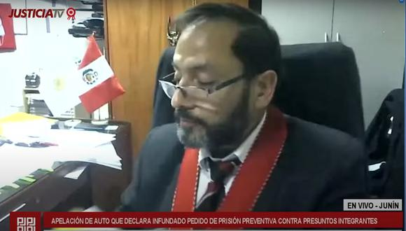 El fiscal Ramón Vallejo insistió en el pedido de prisión preventiva que fue presentado en primera instancia por la fiscal Bonnie Bautista.